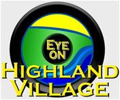 Eye on Highland Village Logo
