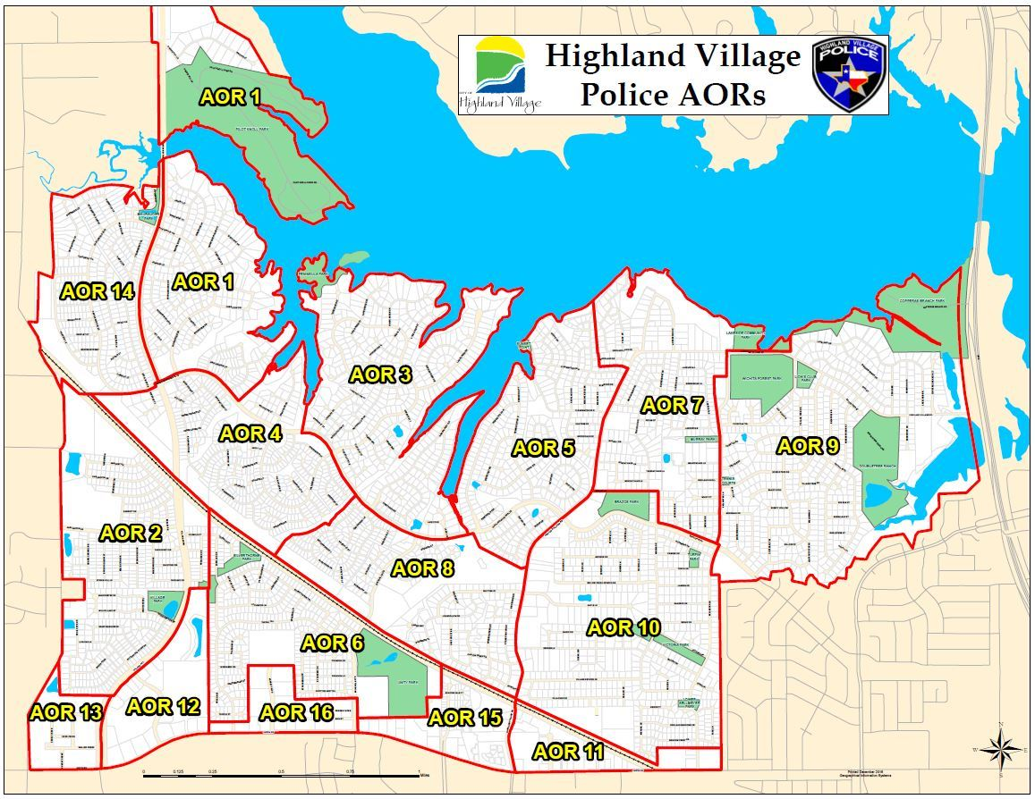 areas of responsibility aor highland village tx official website