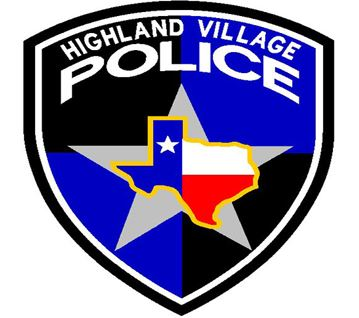 Highland Village Police Badge