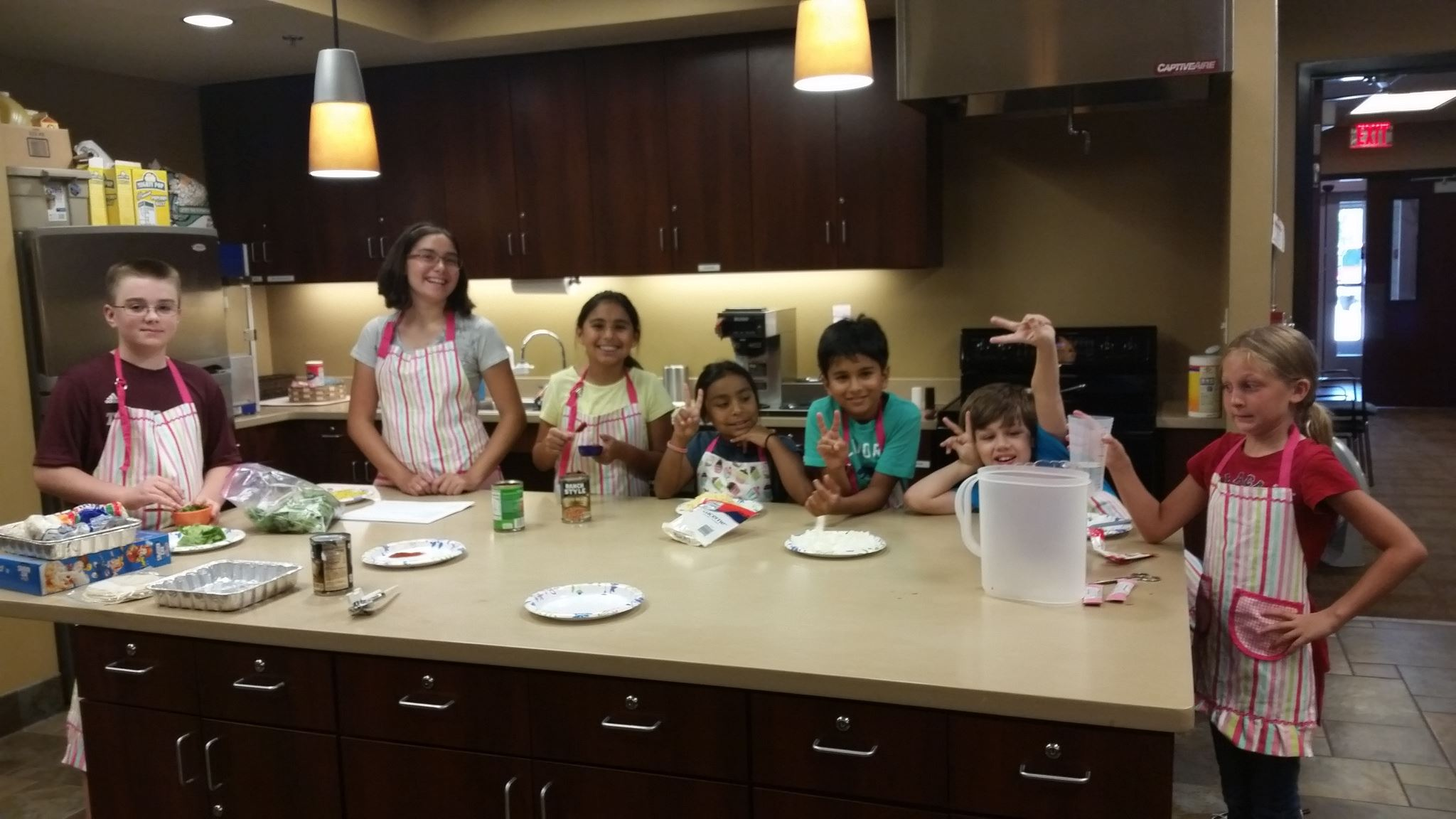 Children Cooking Class 7.20.16