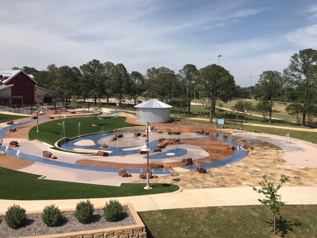 Splash Pad At Doubletree Ranch Park Highland Village Tx Official Website