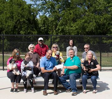 Lions Club Donation_Dog Park shade cover
