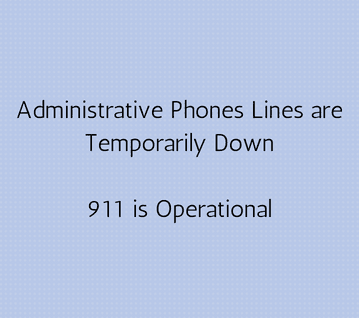 Phone Lines are Temporarily Down