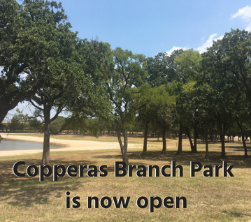 Copperas Branch Park Open