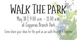 5.3.2019 MC - Walk the Park