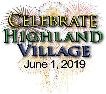 Celebrate Highland Village 2019 Logo