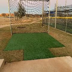 Unity Park Gray Field Soft Toss Station