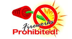 Fireworks Prohibited