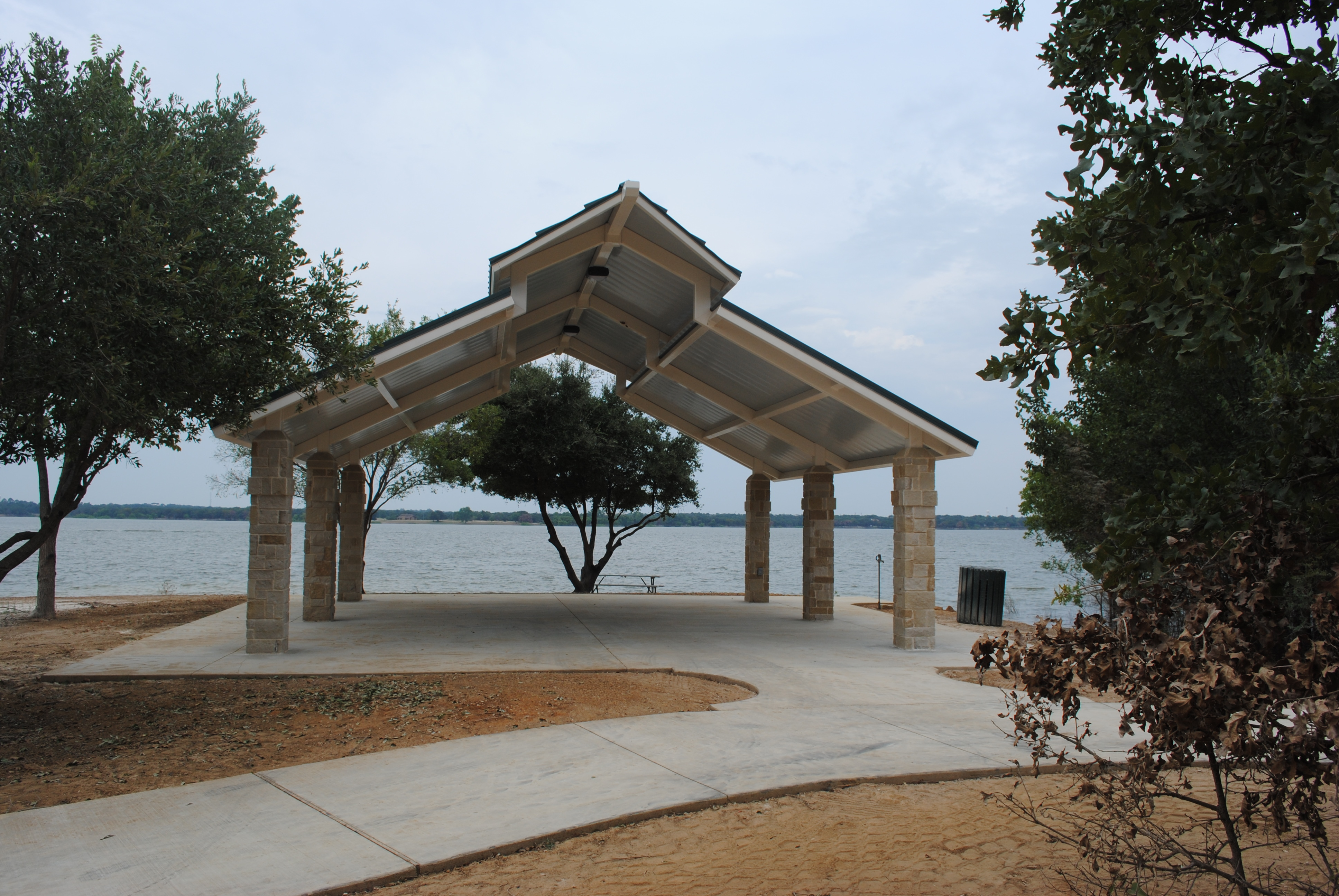 Large Pavilion Lakeside