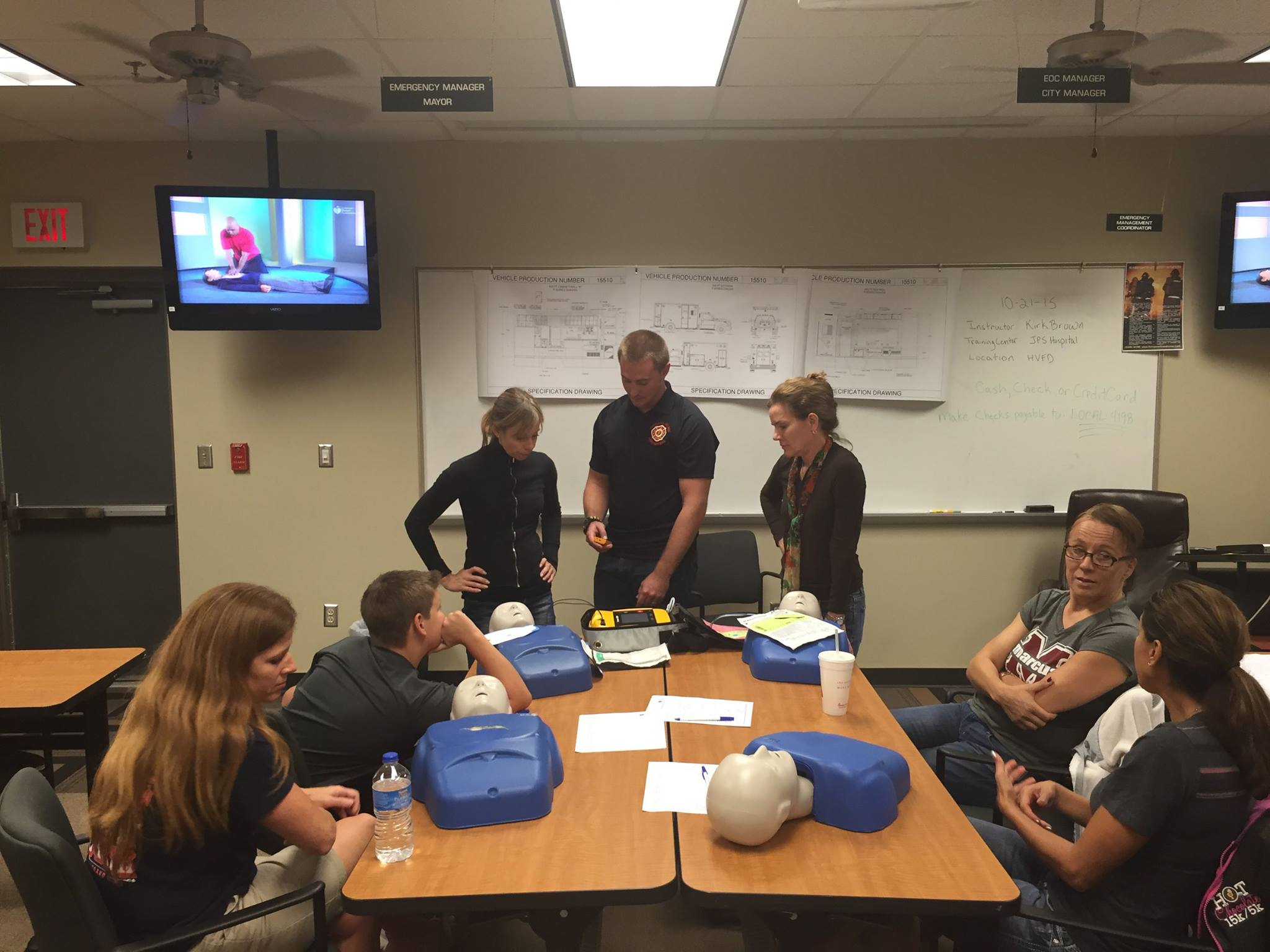Monthly CPR Class
