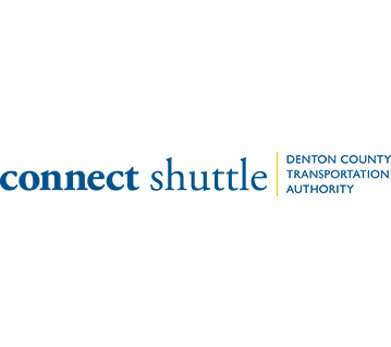 DCTA Connect Shuttle Logo