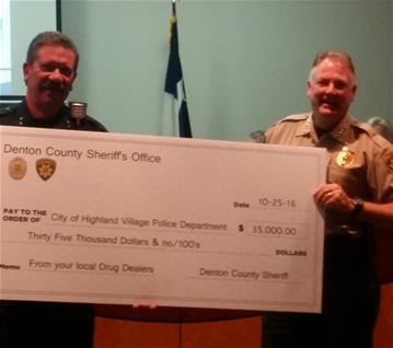 Denton County Sheriff Check Presentation