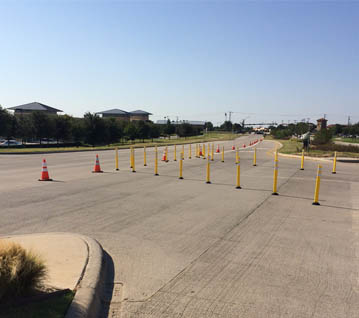 FM 2499 Median Turn Lanes